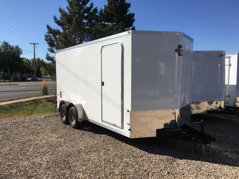 2020 Charmac Trailers 7x16 Stealth Enclosed Cargo Trailer with 5200lb Axles