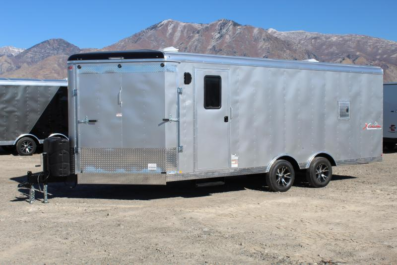 Mirage Trailers 8.5x24 Xtreme Sport Snowmobile Trailer