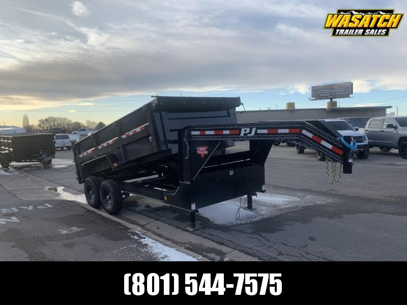 2020 PJ Trailers 14 ft - 83 Low Pro High Side Dump (DM) Dump Trailer