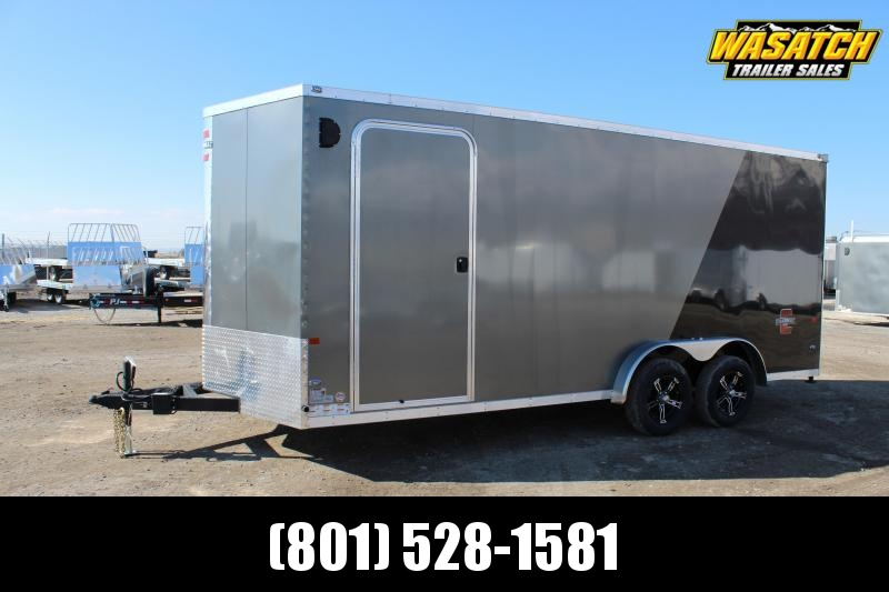 Charmac Trailers 7.5x18 Stealth Enclosed Cargo Trailer w/ UTV Package