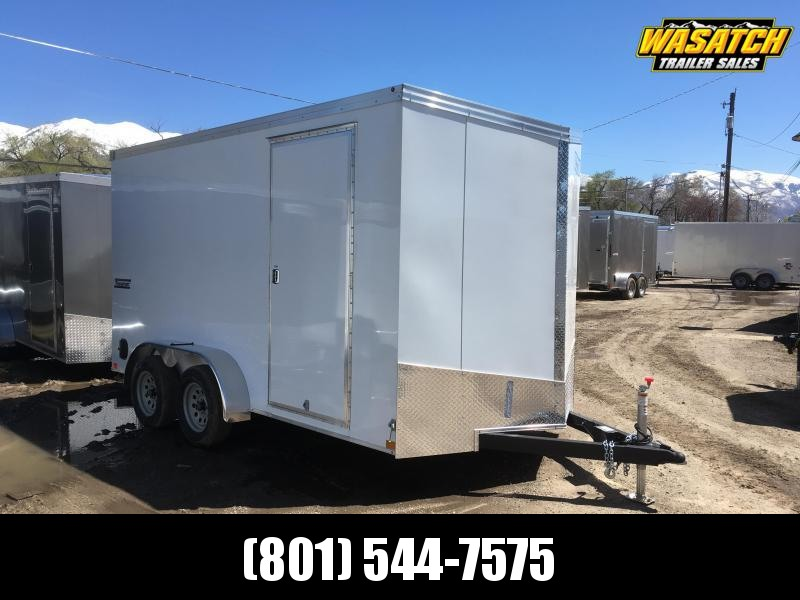 2020 Haulmark 7x14 Transport Enclosed Cargo Trailer w/ UTV Package