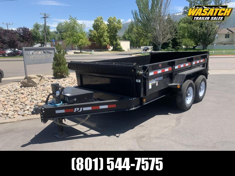 2020 PJ Trailers 12 ft - 83 in. Low Pro Dump (DL) Dump Trailer