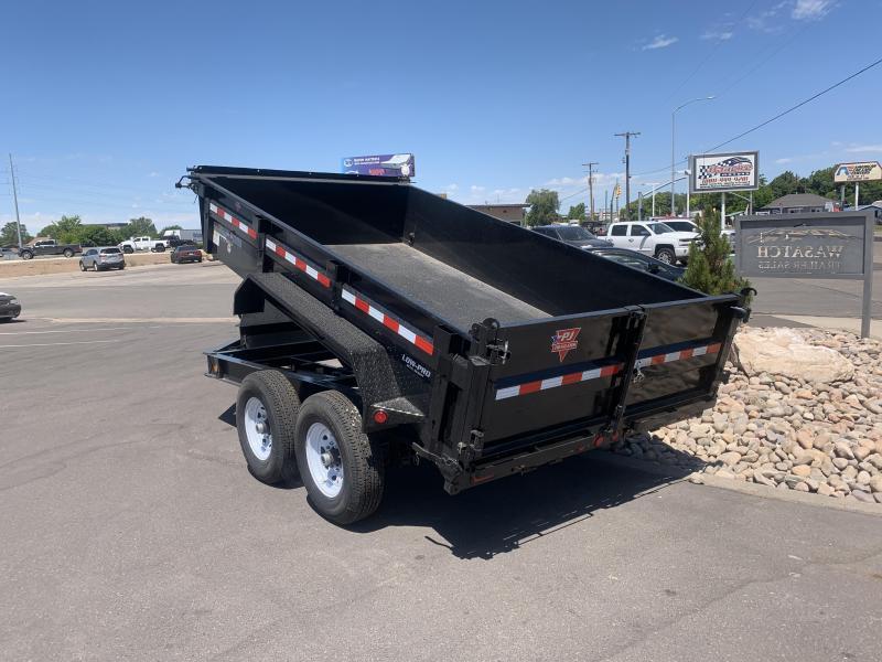 2020 PJ Trailers 12 ft - 83 in. Low Pro Dump (DL) Dump Trailer