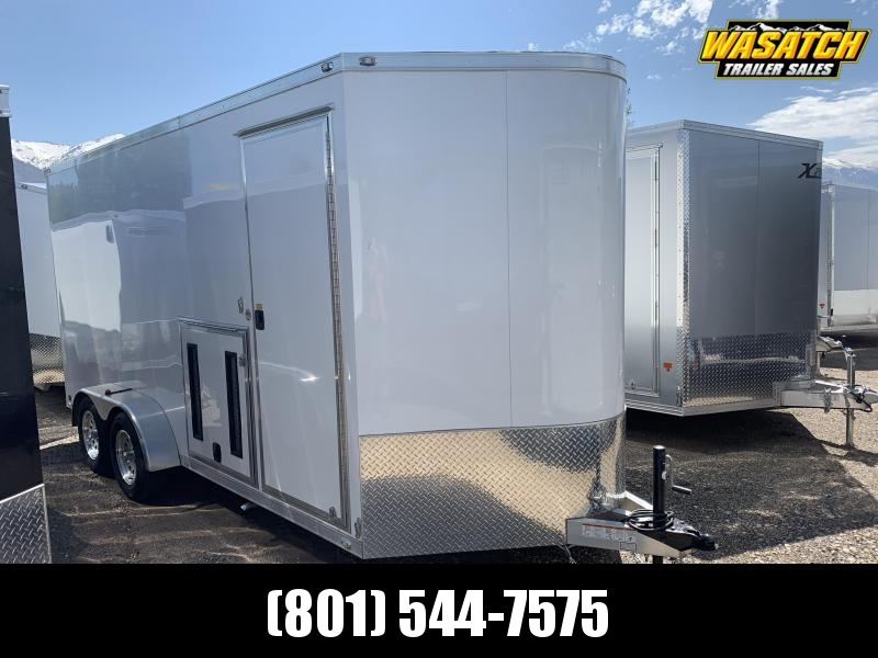 USED - 2016 ATC Custom Shop Enclosed Cargo Trailer