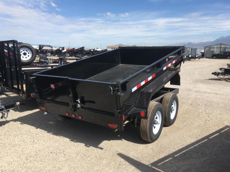 "PJ Trailers 6x10 Tandem Axle (D3) Dump 18"" High Sides"