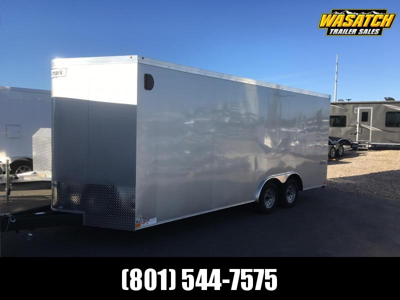 2020 Haulmark 8x20 Transport Carhauler with Stabilizer Jacks