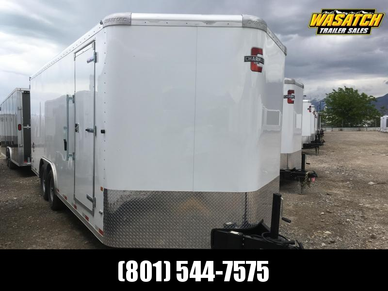 2019 Charmac Trailers 100x20 Enclosed Cargo Trailer