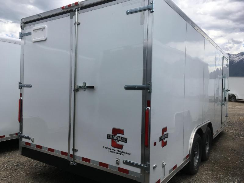 2019 Charmac Trailers 100x20 Enclosed Cargo Trailer