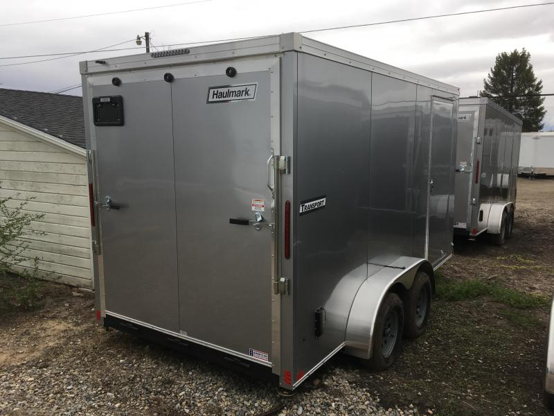 2019 Haulmark 7x14 Transport Enclosed Cargo Trailer w/ UTV Package