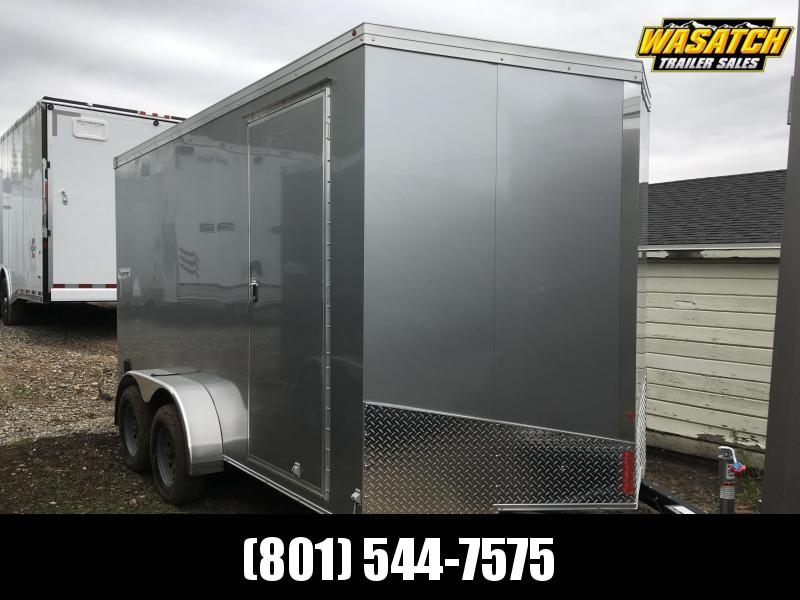 2019 Haulmark 7x14 Transport Enclosed Cargo Trailer w/ UTV Package