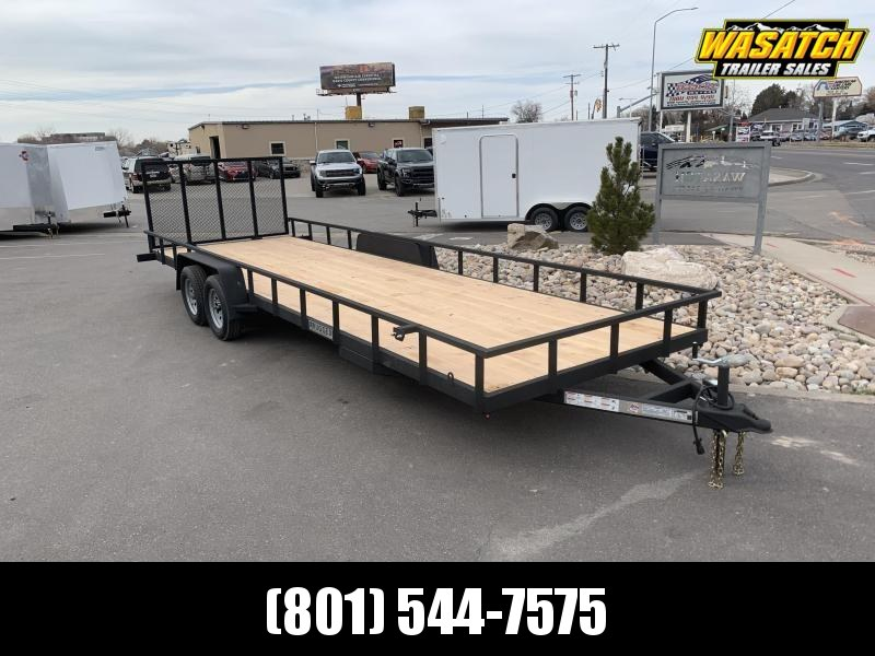 Charmac 7x24 Rugged DX Steel Utility Trailer