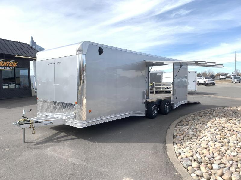 Alcom-Stealth 8x24 Stealth Car / Racing Trailer