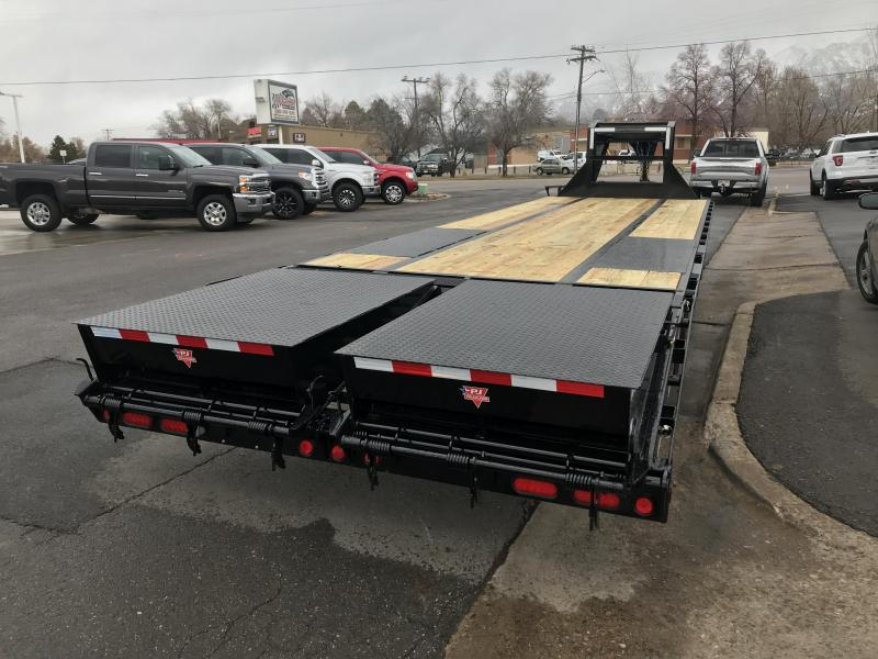 PJ Trailers 8.5x30 Low-Pro Flatdeck with Duals (LD) Flatbed Trailer