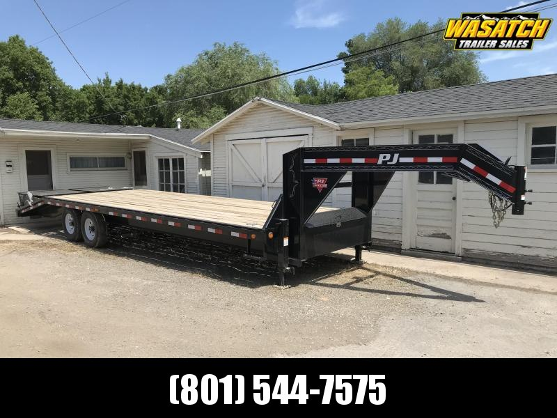 2020 PJ Trailers Classic Flatdeck with Singles (FS) Flatbed Trailer