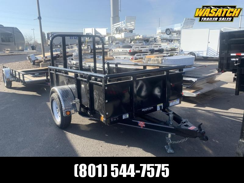 2020 PJ Trailers 8ft - 60 in. Single Axle Channel Utility (U6) Utility Trailer