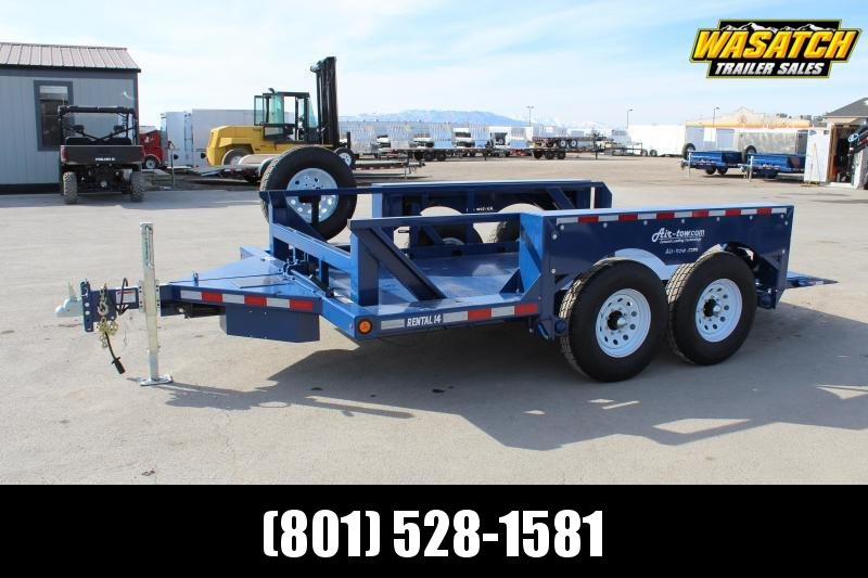 Air Tow Rental-14 Equipment Trailer