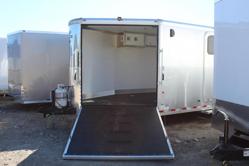 Charmac 8.5x28 Tri Sport Enclosed Snowmobile Trailer
