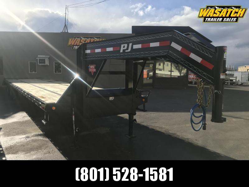 PJ Trailers 8.5x36 Low-Pro Flatdeck with Duals (LD) Flatbed Trailer