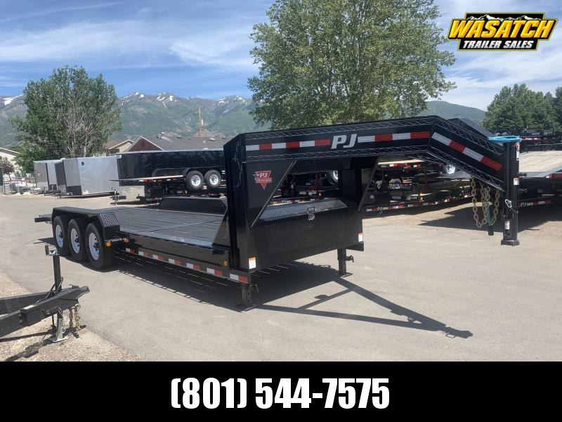 2020 PJ Trailers 24ft - HD Equipment Tilt 8 in. Channel (TK) Equipment Trailer