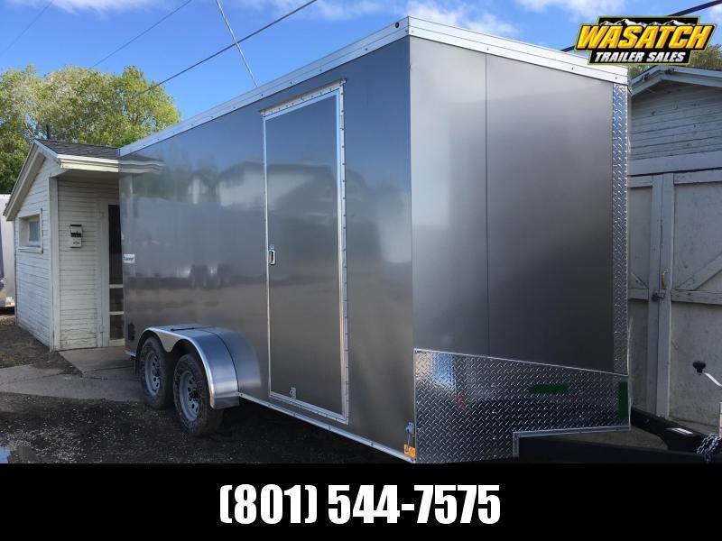2019 Haulmark 7x16 Transport Enclosed Cargo Trailer w/ UTV Package