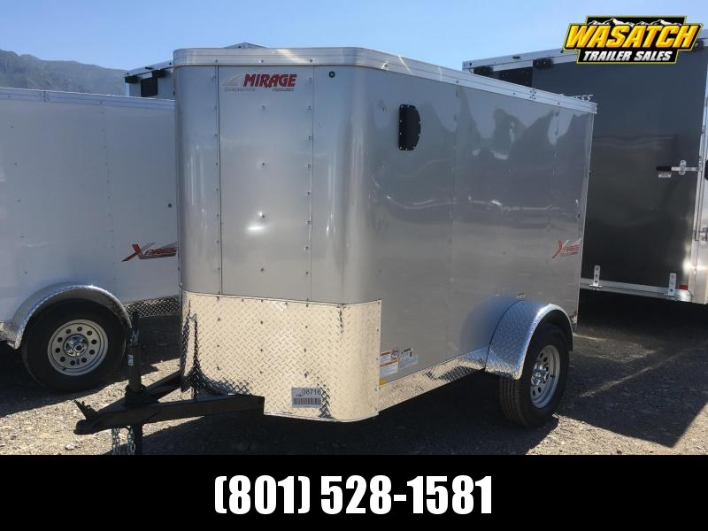 Mirage 5x8 Xpres Enclosed Steel Cargo w/ V-nose
