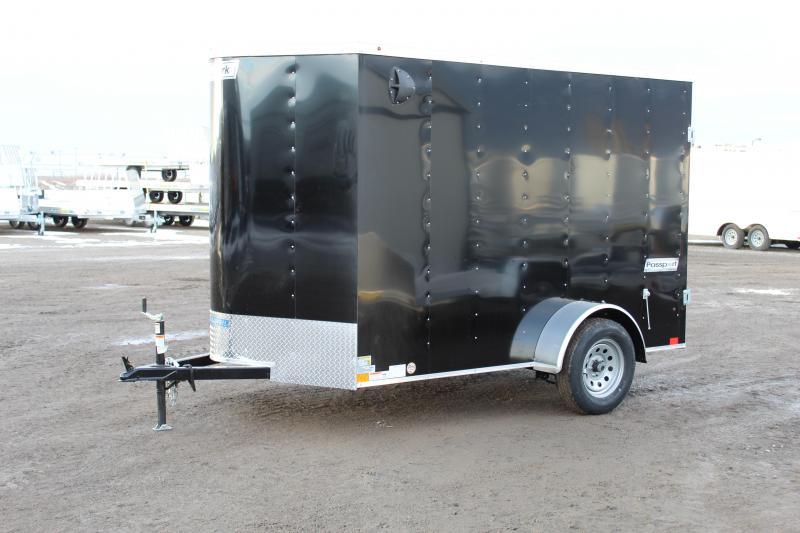 Haulmark 6x10 Passport Deluxe Enclosed Cargo Trailer
