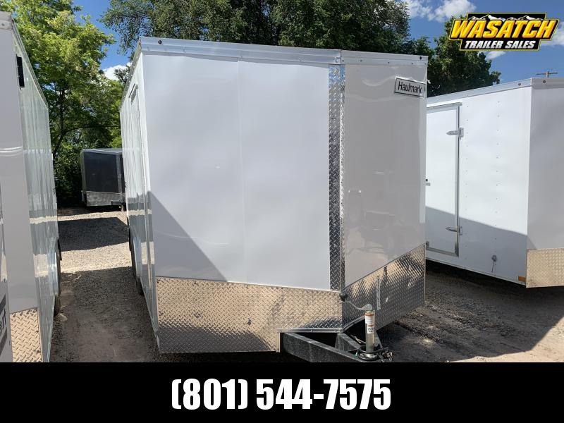 2019 Haulmark 8.5x16 Transport Cargo Trailer
