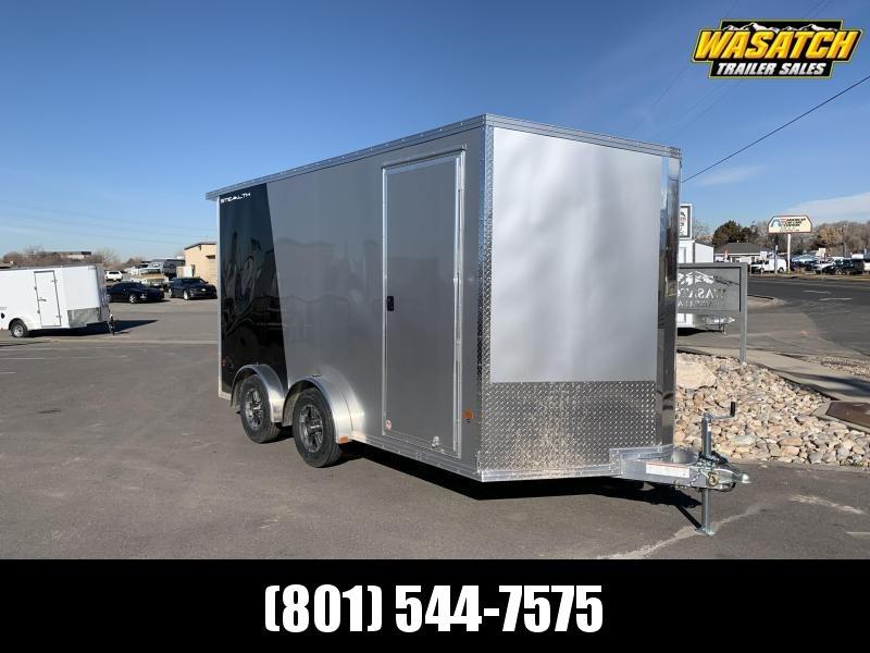 7.5x14 Aluminum Alcom-Stealth Cargo Trailer