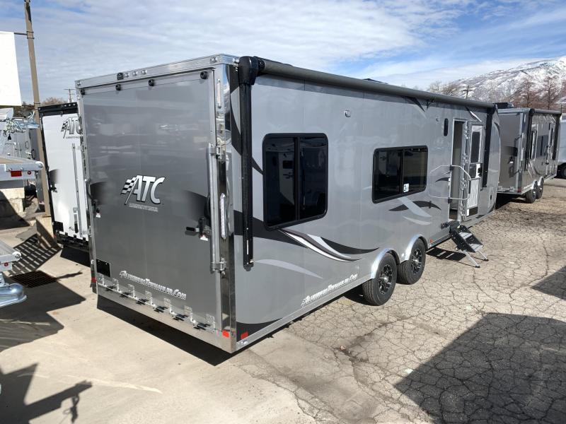 2020 ATC 29 ft Aluminum Toy Hauler RV