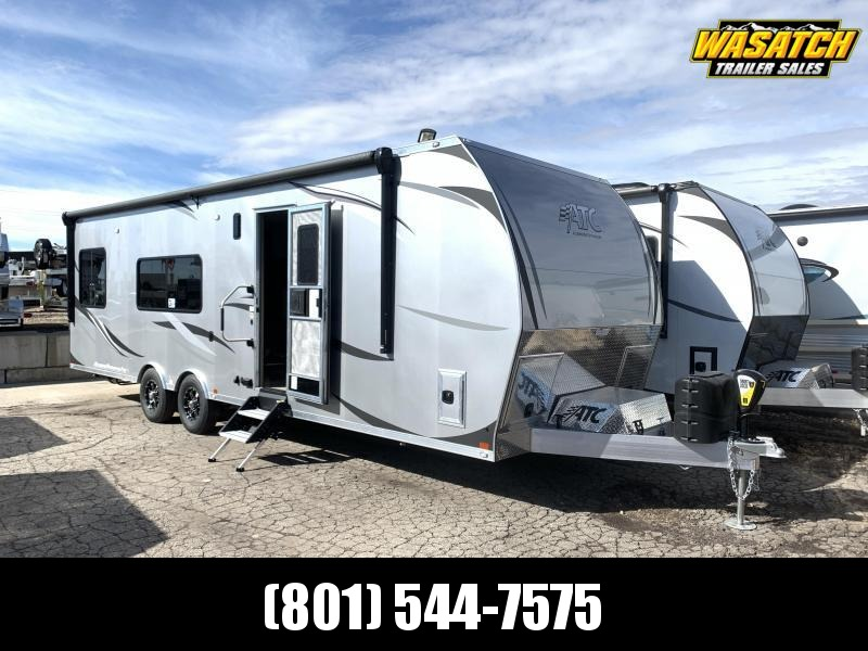 2020 ATC 29 ft Aluminum Toy Hauler RV