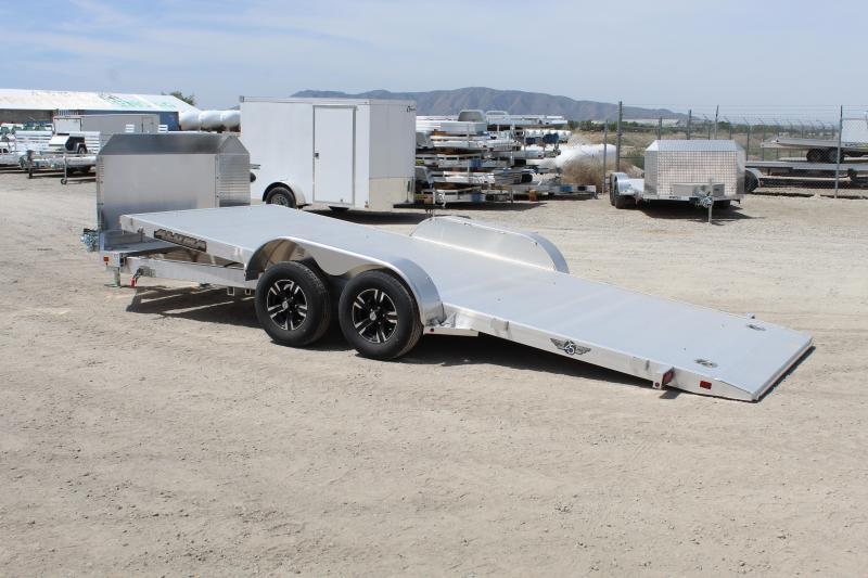 "Aluma 82""X18' Anniversary Tilt Car / Racing Trailer"
