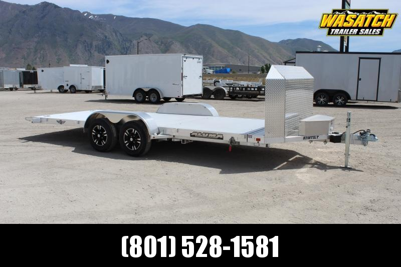 "Aluma 82""X18' Anniversary Tilt Car / Racing Trailer"