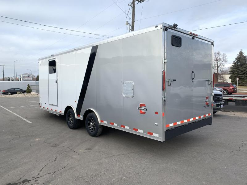 2020 Charmac Trailers 30 ft Tri Sport Snowmobile Trailer