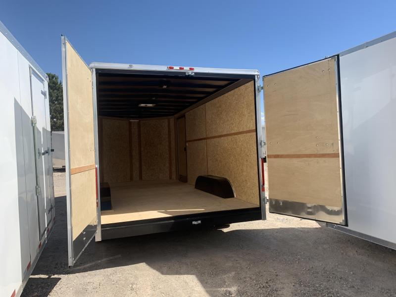 2019 Charmac Trailers 100x18 Commercial Duty Enclosed Cargo Trailer