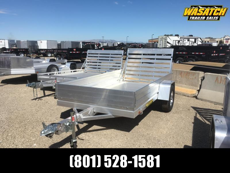 "Aluma 5x10 Utility Trailer with 12"" Solid Sides"