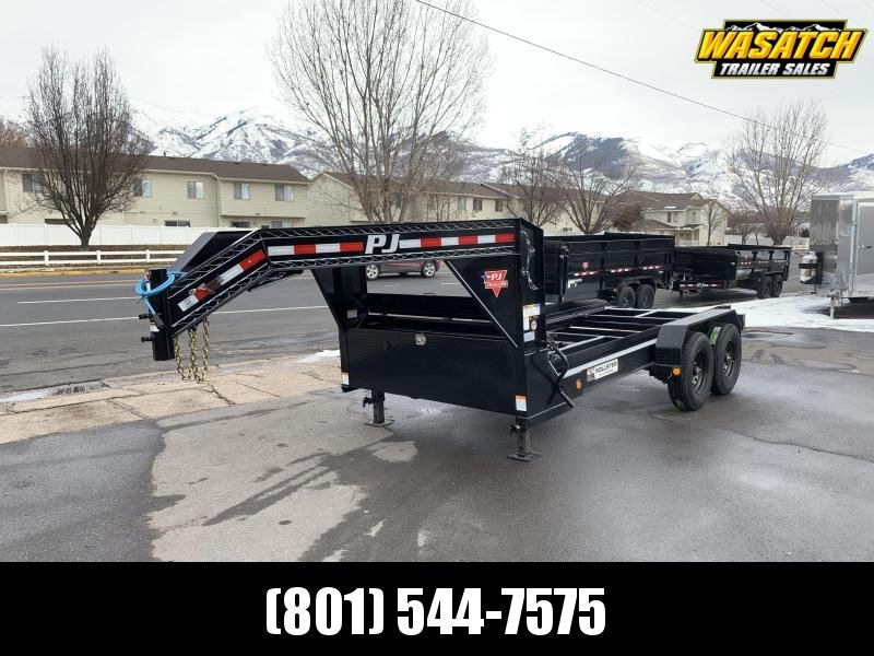 2020 PJ Trailers 14 ft Rollster Roll Off Dump (DR) Dump Trailer