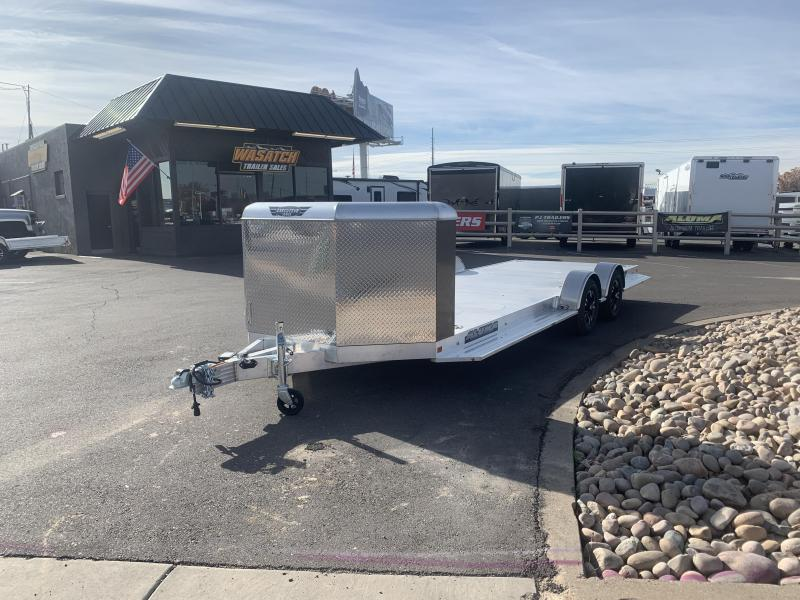 Aluma 8220XL 20' Aluminum Car / Racing Trailer