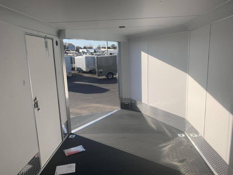 2020 Haulmark 28ft Aluminum Venture Snowmobile Trailer