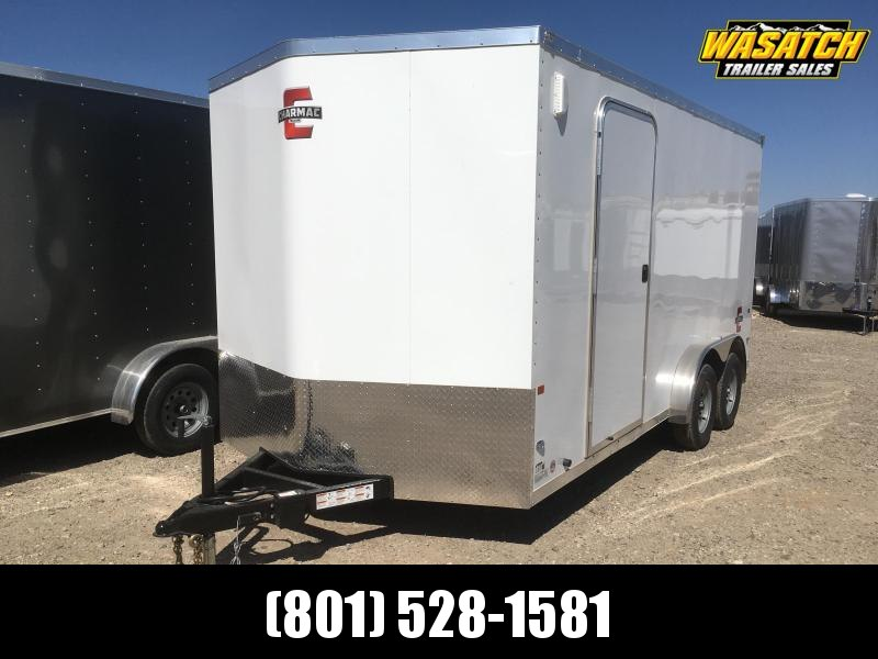 Charmac 7.5x16 Stealth Enclosed Steel Cargo w/ V-Nose