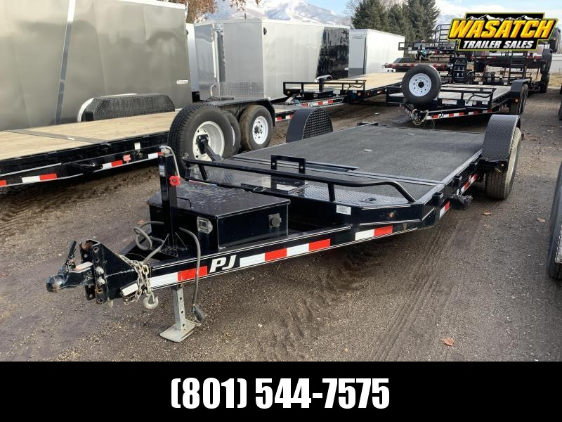 2017 PJ Trailers Single Axle HD Tilt (T1) Equipment Trailer