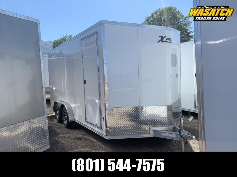 High Country Xpress White 7.5x16 Cargo with Ramp
