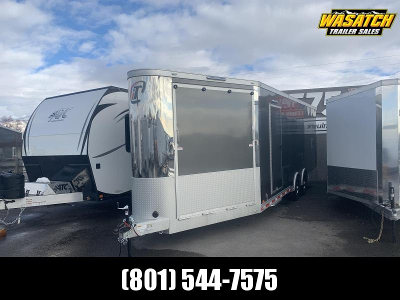 2020 inTech Trailers 31ft V-Nose Snowmobile Trailer