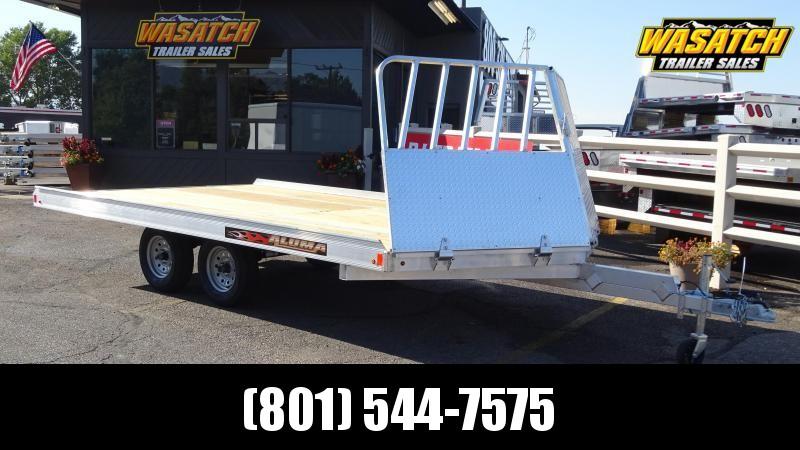 2020 Aluma 8614 Snowmobile Trailer