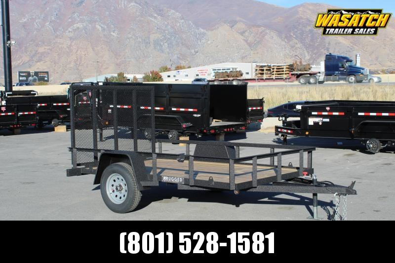 Charmac Trailers 6x10 Rugged Utility Trailer