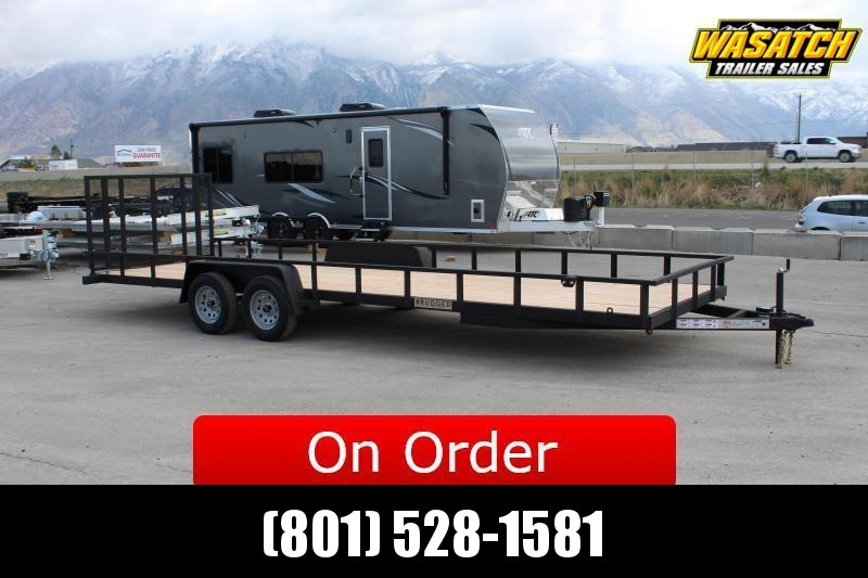 ***Charmac Trailers 7x30 Rugged Utility Trailer w/ Tube Frame***