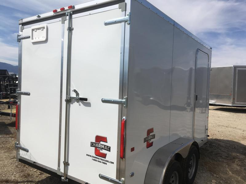 Charmac 7x12 Stealth Enclosed Steel Cargo Trailer