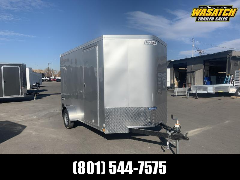 2020 Haulmark 7x12 Single Axle Transport w/ Ramp Enclosed Cargo Trailer
