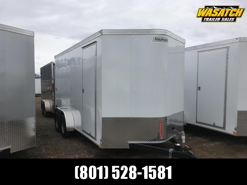 Haulmark 7x16 Transport Enclosed Steel Cargo w/ V-Nose