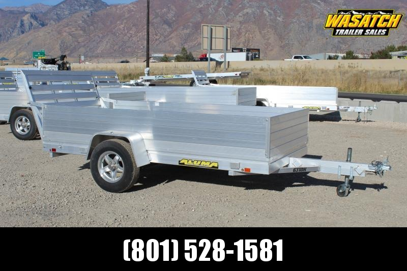 "Aluma 5x10 Aluminum Utility Trailer w/ 24"" Solid Sides"