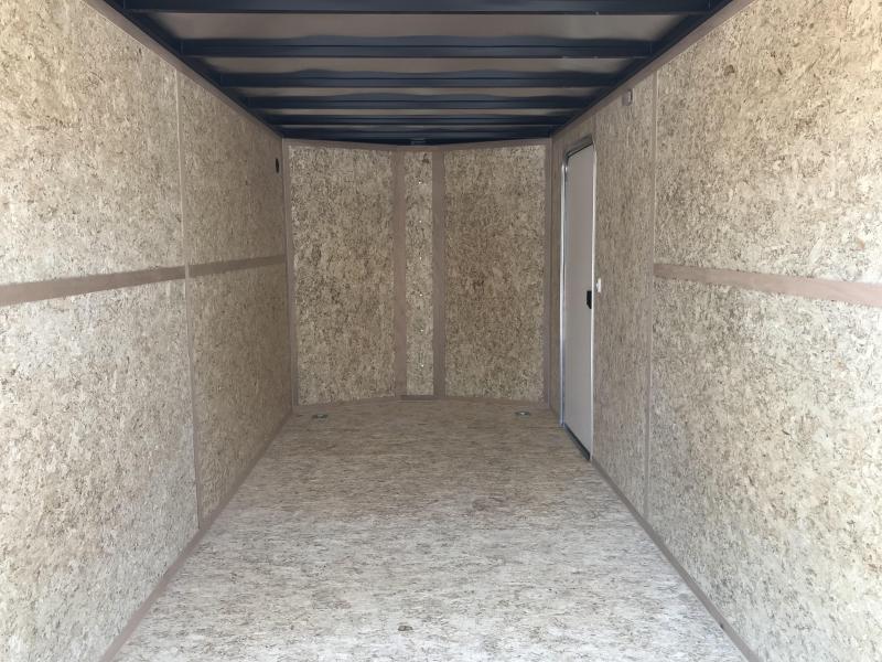 Charmac 7x16 Stealth Enclosed Steel Cargo w/ UTV Package